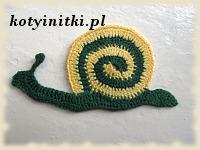 szydełkowy ślimak